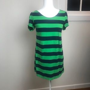 Green and blue striped Libertine for Target